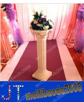 Wholesale White Plastic Roman Columns Road Cited For Wedding Favors Party Decorations Hotels Shopping Malls Opened Welcome Road Lead MYY312