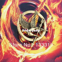 arrows orders - Min order is mix order New Style Fashion Hunger Game Personality Brooches Arrow Bird Brooch Pins SH042