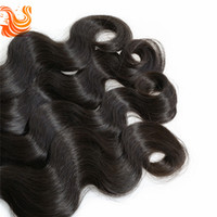 Wholesale 4Pcs A Unprocessed b Natural Color HOT Malaysian Body Wave Human Hair Extensions Virgin Hair Weave Double Weft DHL