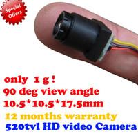 Wholesale New version TVL HD Video mini camera for FPV deg view angle