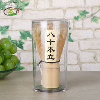 Wholesale Japanese Ceremony Bamboo Chasen Green Tea Whisk for Preparing Matcha Powder Coffee Tea Tools