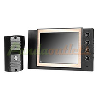Wholesale Home quot LCD Monitor Video Door Phone Doorbell Camera Entry Intercom System