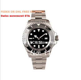 Vente en gros - AAA + MEN Certified Pre-Owned Deepse une montre Sea-Dweller 116660 44MM BKSO Automatic à partir de fabricateur