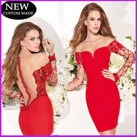 Reference Images Chiffon Sexy 2015 Sexy Red Tight Mini Dresses Satin Above Knee With Applique Cocktail Dresses Ball Gowns Short Party Dresses