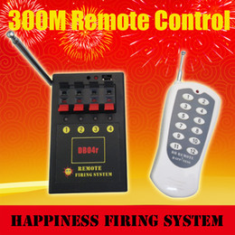 FedEX DHL free shipping, 2 sets lot, 4 channels Wireless Remote Control Firing System, pyrotechnic fire system, fireworks system (DB04r-4)