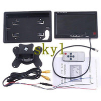 monitors - 7 quot TFT Color LCD Video Input Car RearView Headrest Monitor DVD VCR hot sale