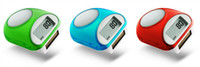 Wholesale Solar Pedometer Walking Step Distance Calorie Counter Multifunction Digital Fitness Equipments