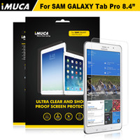 Wholesale For Samsung Galaxy Tab Pro Screen Protector Anti Shock Explosion Proof Screen Protective film iMUCA Original Brand