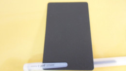 500pcs Black Blank Matte PVC Business Cards Material Thinkness 0.38mm Size 86x54mm Round Corner