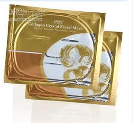 500pcs Hot Deck Out Women Crystal Facial Mask FACE CARE Intensive Care Collagen Facial Mask Magical
