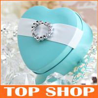 heart shaped tin box - Wedding Favour Boxes Candy Gift Box Heart shaped Tins Candy Box HQ0121