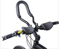 Mountain Bikes aero - 1 Road Mountain Bike Cycling Race Bicycle MTB Aluminum Alloy Triathlon Aero Handlebar Rest Handle Bars Retail