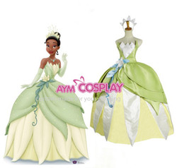 Wholesale New Arrival Princess Tina the Princess and the Frog Movies Dress Princess Dress
