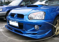 Wholesale Fiberglass Front Lip Spoiler Splitter for Subaru Impreza WRX STi