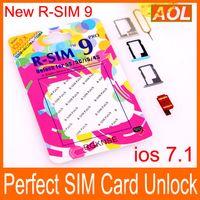 R-SIM 9 pro RSIM9 R-SIM9 Pro Perfect SIM-карта авто официальный Unlock IOS 7.0.2 7.1 ios 7 RSIM 9 для iphone 4S 5 5G 5S 5C GSM CDMA WCDMA 3G 4G
