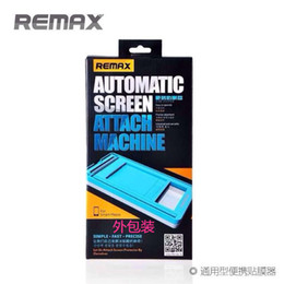Wholesale New REMAX Automatic Screen Attach Machine suit For iPhone S S C For Samsung Universal tools no limited for mobile phone models