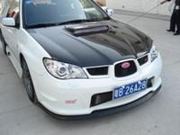 Wholesale Carbon Fiber Front Lip Spoiler Splitter for Subaru Impreza WRX STi
