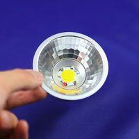 Wholesale BA15D AR70 QR70 W W COB LED Bulb DC12V AC85 V Led lamp