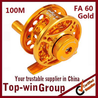 fa 60 gold die cutting machine - Aluminum Alloy Machine Cut Fly Fishing Reel m Aminum Die casting CNC Fly Fishing reels
