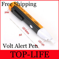 Yes ac volt detector - high quality AC Non Contact Electric Voltage Tester Volt Alert Pen Detector Sensor V hot sale