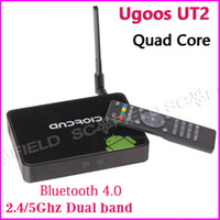 Quad Core Included 1080P (Full-HD) UGOOS UT2 Android TV BOX Mini PC RK3188T 2GB RAM 8G 32G ROM 2.4G 5G WIFI Bluetooth 4.0 Support XBMC Android 4.2