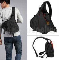 Wholesale Casual DSLR Camera Bag Messenger Shoulder Bag For Nikon Sony Canon Olympus NEW