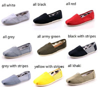 Free shipping 2014 brand new women and men canvas shoes canv...