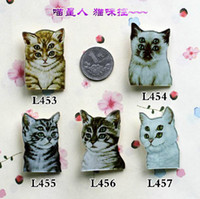 fashion jewelry dropship - Minimum order is MIX order accepted new popular cool cat fashion statement new design jewelry brooch dropship