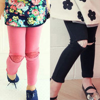 Trousers Boy Summer 2014 spring Korean version of the new children's clothing female baby child sexy lace leggings long pants kz-3278