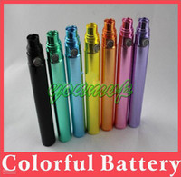 Electronic Cigarette Battery  Newest Colorful GS Ego battery for E cigarette 650 900 1100mAh e cig batteries for CE4 CE5 CE9
