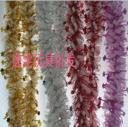Wholesale Christmas decoration ribbon christmas decoration overstretches vigoreux encryption christmas vigoreux meters