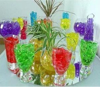 Wholesale 2014 New packs g pack New Magical Crystal Mud Soil Beads For Plant Flower colorful color