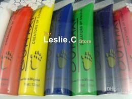 Wholesale AJ835 Colors Acrylic Paints Tube Box Set for Nail Art creators of colour Acrylic Paint Di