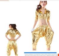 Vêtements rétro de danse hip-hop 90 DS costumes hip-hop HIP-HOP Harlan costumes de la barre de vent
