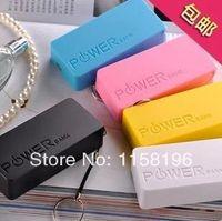 Wholesale Perfume MAH USB Power Bank Emergency Portable External Battery Pack Retail Package Fedex