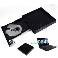 Wholesale Promotions USB External Slim Portable Optical DVD ROM Drive For Laptop PC Dropshipping