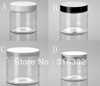 Plastic cosmetic cream container - DIY g Clear Cream Jar g PETjar cosmetic container cosmetic packaging