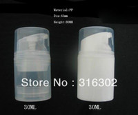 airless bottle - ml high quality white or clear pp airless bottle ml airless pump bottle oz airless container