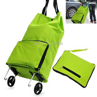 Yes   Home Furnishing Portable Foldable Trolley Bag Shopping Bag