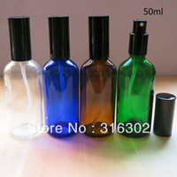 Wholesale DHL ml glass essential oil container cc lotion pump bottle cosmetic container