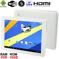 Wholesale X5 Silver inch HD Retina IPS Capacitive Touch Screen Android Version Tablet PC with WIFI Dual Cameras