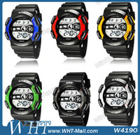 Sport Unisex Round AUDI submersible Table Waterproof Luminous Watch Multifunctional Sports Watch.