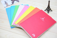 Wholesale Korea journal Notepad Stationery refreshing Candy colored Eiffel