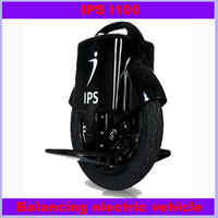 Wholesale IPS I100 Self Balancing One Wheel Electric Scooter Unicycle Driving Range km Balancing electric vehicl Free DHL UPS or Fedex