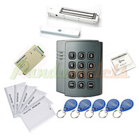 Wholesale Plastic Standalone Access Controller with User Magnetic Lock Kg EM ID Card Power Supply