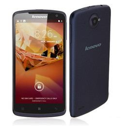 Wholesale 5 inch HD IPS Screen Quad Core MTK6589 Lenovo S920 Cell Phone Android G RAM x pixels WIFI WCDMA