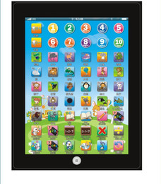 Wholesale Hot New DHL ypad Y pad Table Learning Machine English Computer for Kids Children Educational Toys Music Led