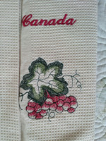 Wholesale Table runners cotton rectangle table cloth Flower and Canada enbroidery table cloth dining table runnersand placement cm100g
