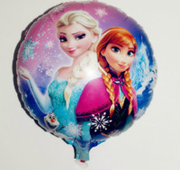 Wholesale Retail cmx45cm Frozen bubble balloon new Frozen balloons party decoration foil balloons