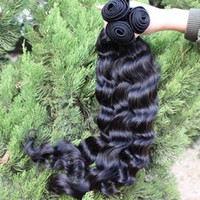 Wholesale 12 quot quot Mixed Lengths Queen Malaysian Virgin Natural Wave Wefts Virgin Human Hair Weave Extensions